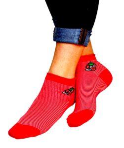 amarre con calcetines
