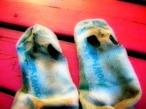 hechizos con calcetines sucios